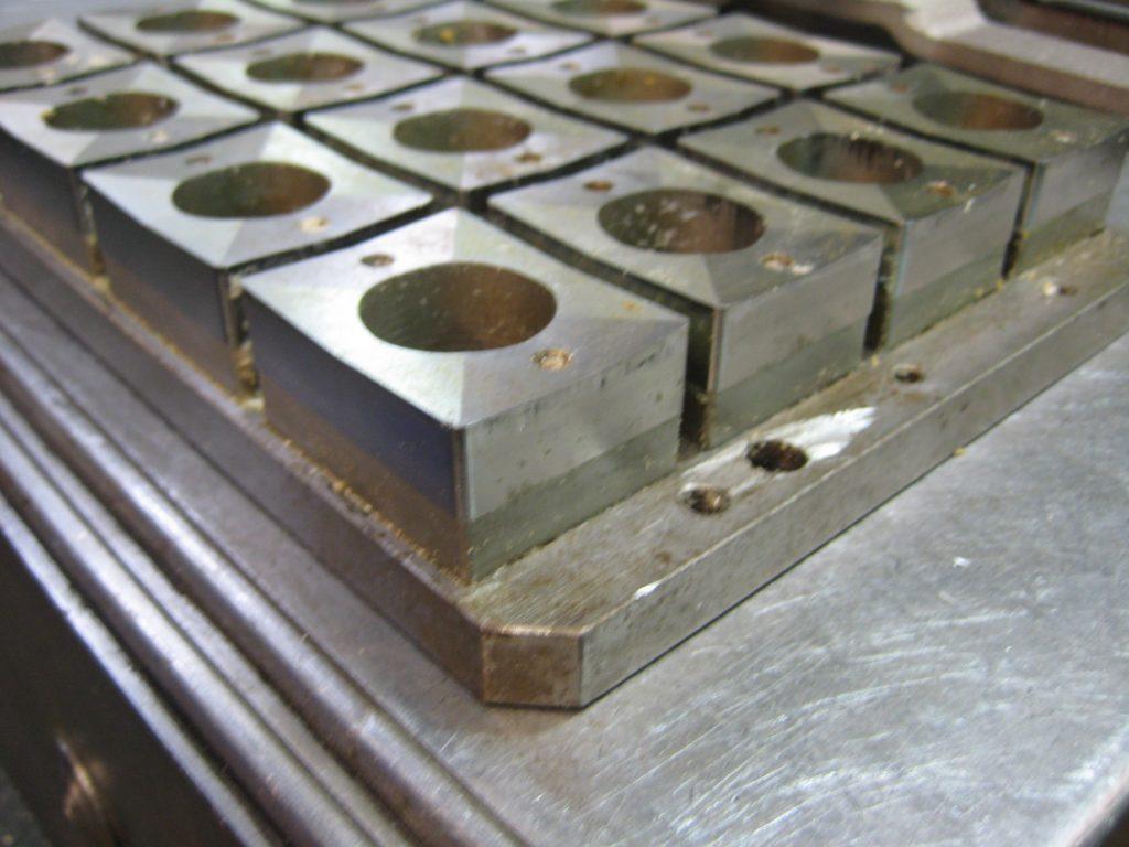 Troqueles de micropastillas